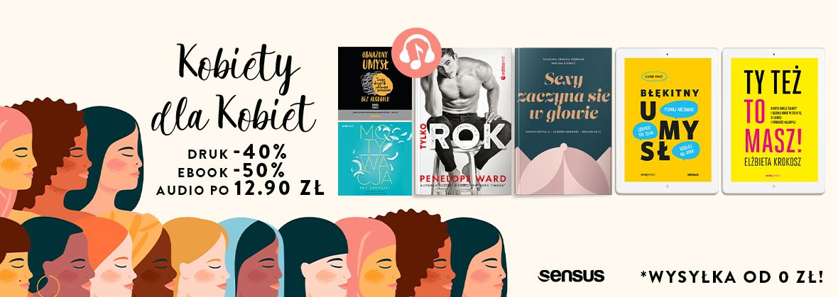 Promocja na ebooki Dzień Kobiet